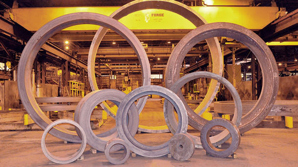 """Scot Forge: """"We've Got You Covered!"""" The leaders in open-die and rolled-ring forging."""
